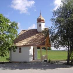 Kapelle fertig Ansicht Südseite