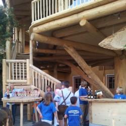 Einweihung vom Baumhaus