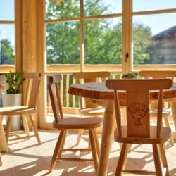 Baumhaus Sitzbereich