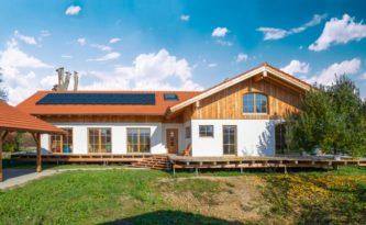 2018 wurde das Köhldorfner Muster-Holzhaus erbaut