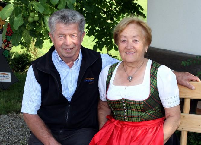 Michael Köhldorfner sen. mit Frau Amalie