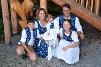 Michael Köhldorfner jun. mit Familie