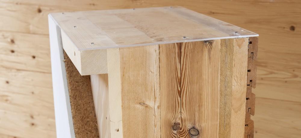 Verschiedene Holzhaus-Bauweisen