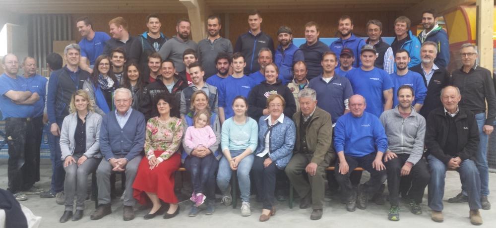 Betriebsausflug zum Partnerbetrieb Holzbau Leitsch