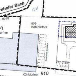 Köhldorfner Muster-Holzhaus Lageplan