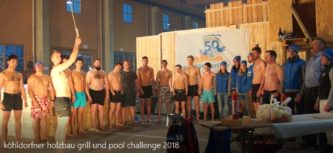 Gaudi bei Grill-Pool-Challenge