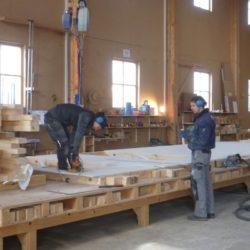 Köhldorfner Musterhaus Vormontage Holzinnenwände