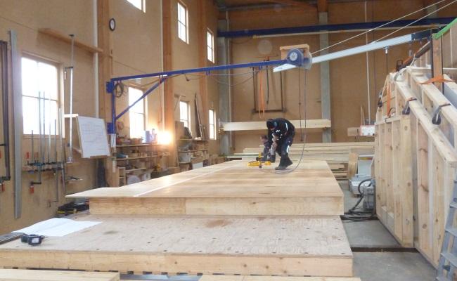 Fußboden Ohne Bodenplatte ~ Produktion holz bodenplatte köhldorfner holzbau gmbh