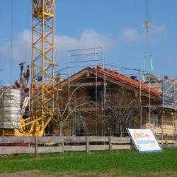 Köhldorfner Muster-Holzhaus Dacheindeckung