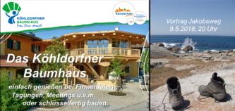 Der Frauenbund lädt ein: Vortrag Jakobsweg