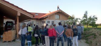 Hebfeier für das Köhldorfner Musterhaus
