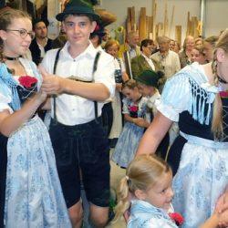 Auftritt des Schnaitseer Trachtenvereins