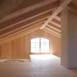 Köhldorfner Muster-Holzhaus Dachgeschoss