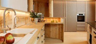 Musterhaus-Küche fertig