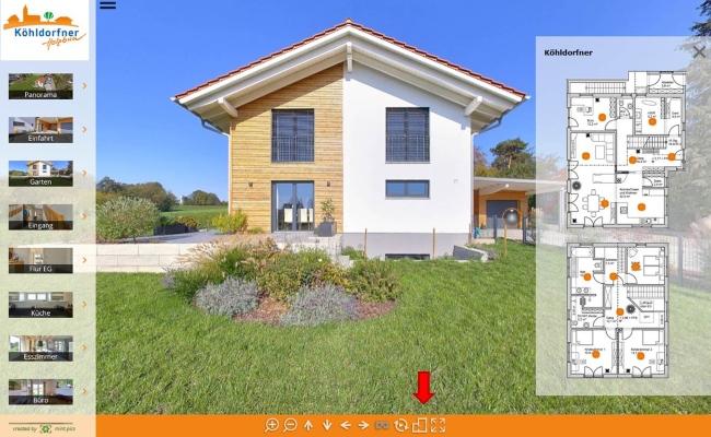 Köhldorfner Referenzhäuser mit virtueller Tour