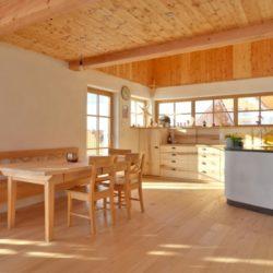Köhldorfner Musterhaus, Küche mit Essbereich