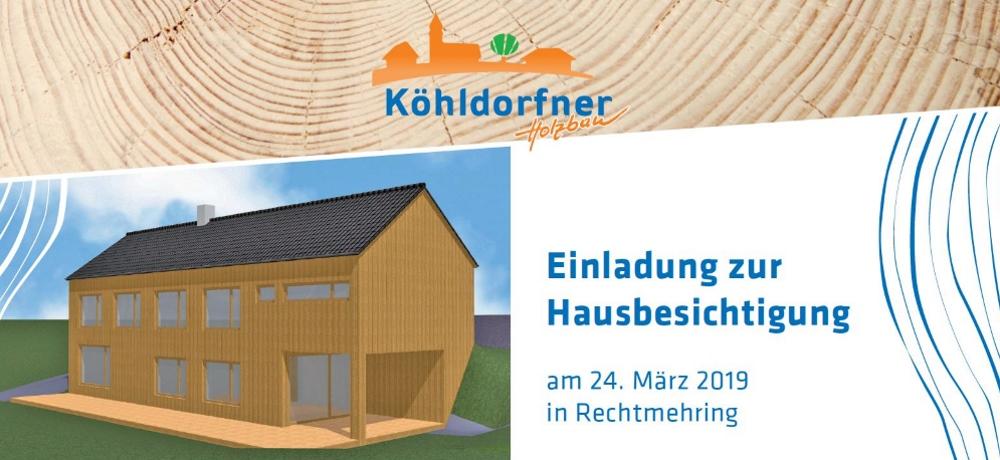 Einladung zur Hausbesichtigung am 24.03.2019