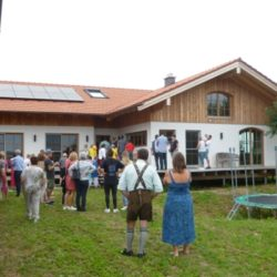 Köhldorfner Muster-Holzhaus-Besichtigung