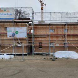 Köhldorfner Holzhaus Oase Thalham Montage