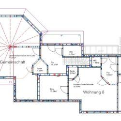 Köhldorfner Holzhaus Oase Thalham Südhaus Grundriss EG