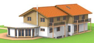 Projektvorstellung Holzhäuser
