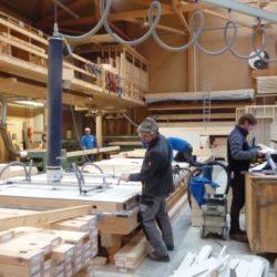 Köhldorfner Holzbau Vormontage Holzwand