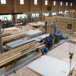 Köhldorfner Holzbau Fertigung Holzhaus
