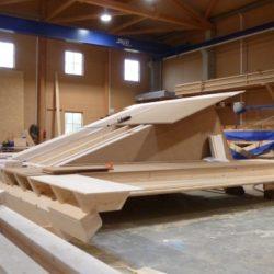 Köhldorfner Holzhaus Vormontage Dachgaube