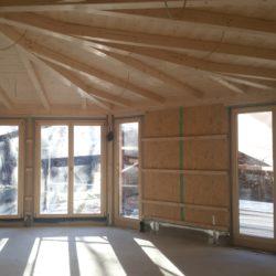 Köhldorfner Holzhaus Referenzobjekt Oase Thalham Innenausbau Gemeinschaftsraum