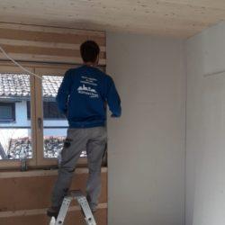 Köhldorfner Holzhaus Referenzobjekt Oase Thalham Innenausbau