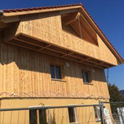 Köhldorfner Holzhaus Oase Thalham Fassade