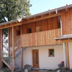 Köhldorfner Holzhaus Oase Thalham Außenansicht