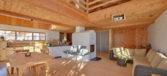 Holz: außen und innen