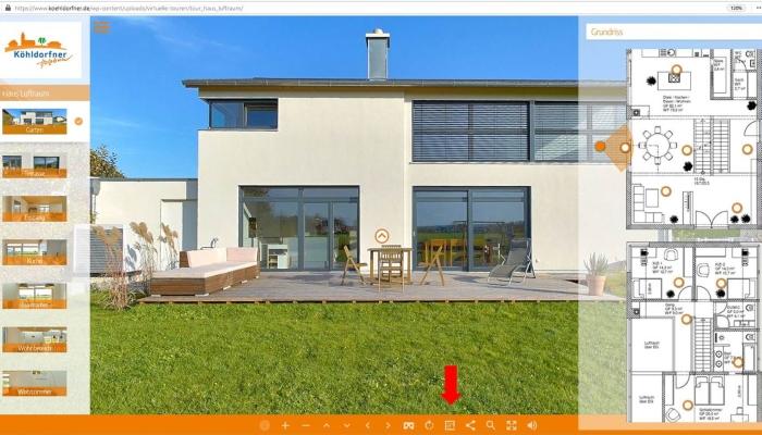Neue Köhldorfner Referenzhäuser 2020 mit virtueller Tour