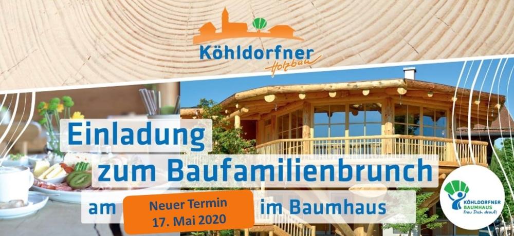 Baufamilienbrunch am 17.05.2020 - Das wohngesunde Holzhaus