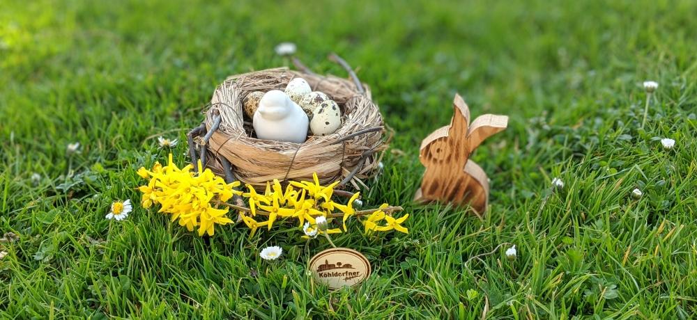Frohe Ostern dahoam