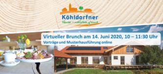 Neu: Vorträge und Musterhausführung online am 14.06.2020