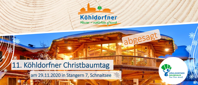 11. Köhldorfner Christbaumtag - abgesagt