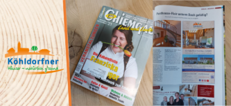 Beitrag in der Chiemgau Land und Leute