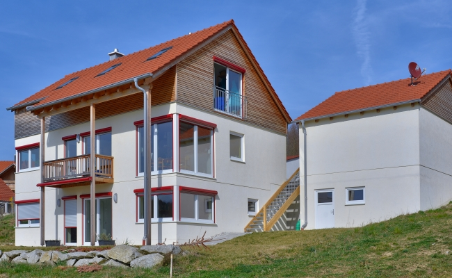 Haus in Holzrahmenbauweise, Oberbayern, Ober
